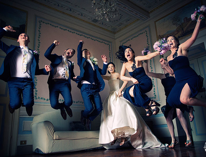 RUTH+STEPHEN crazy irish wedding in Tuscany