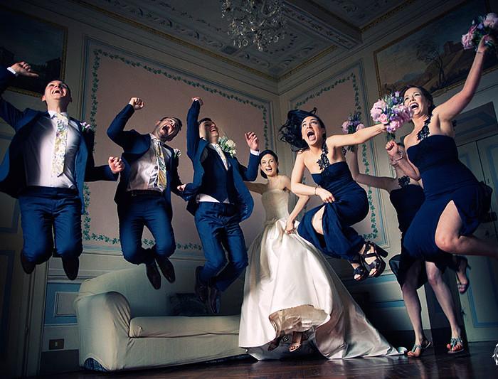 RUTH+STEPHEN crazy irish wedding in Tuscany
