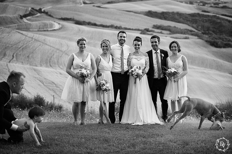 058bridal party portrait