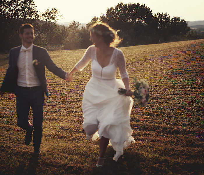 SWEET AND INTIMATE WEDDING IN TUSCANY